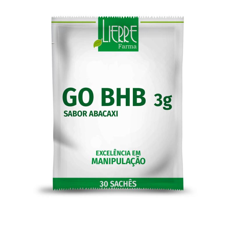 GO BHB 3g 30 Sachês Sabor Abacaxi