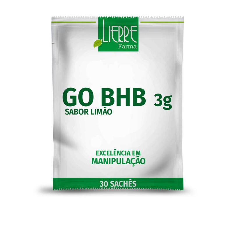 GO BHB 3g 30 Sachês Sabor Limão
