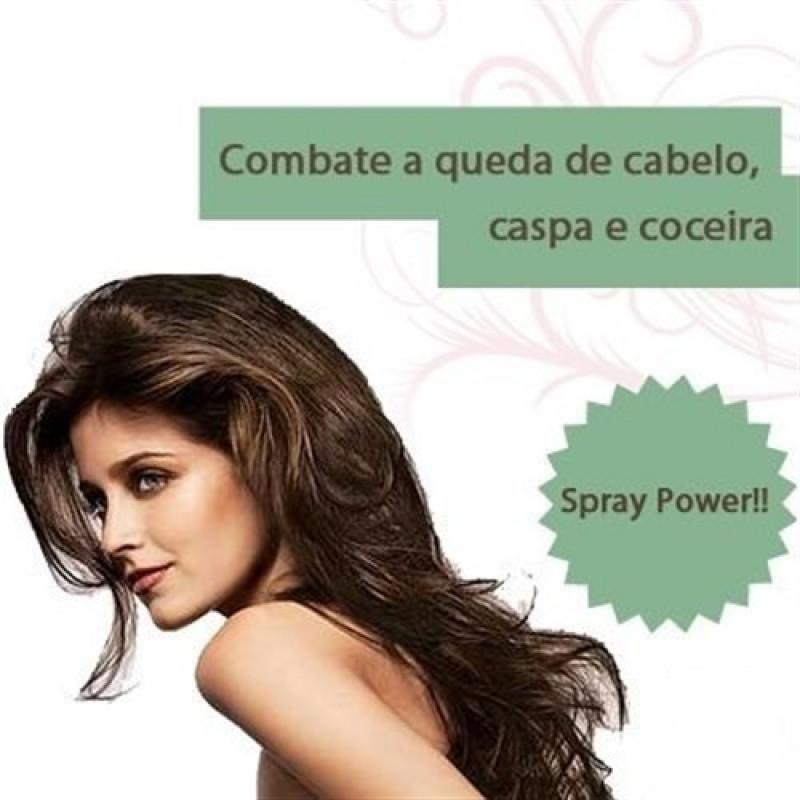 Minoxidil + Auxina Tricógena + Octopirox + Queratina Spray Power