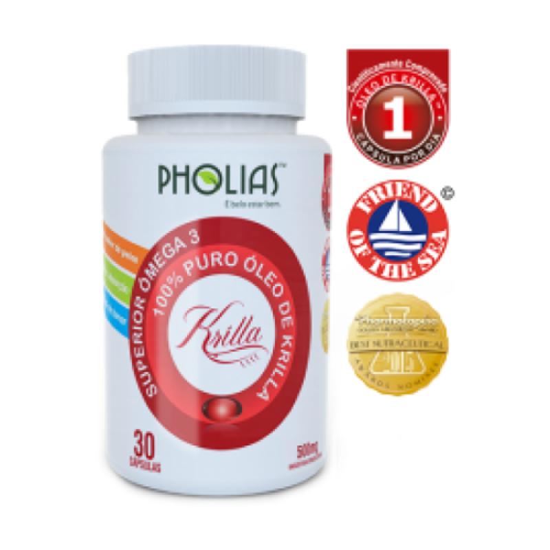 Óleo de Krilla (PHOLIAS) - Ômega 3 100% Puro