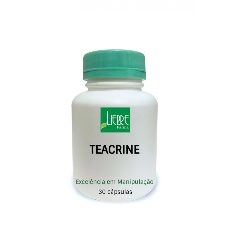 TEACRINE 200mg -  ALTO RENDIMENTO FÍSICO E MENTAL