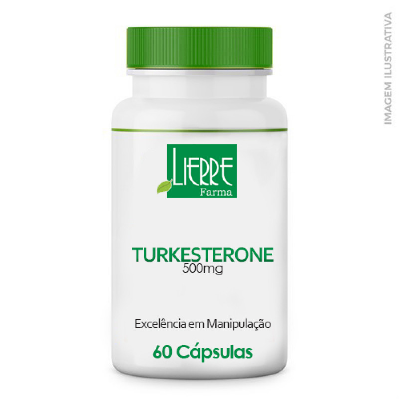 Turkesterone 500mg 60 Cápsulas