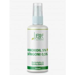 Minoxidil 5% + Sfíngoni 0,5% loção capilar qsp 100ml