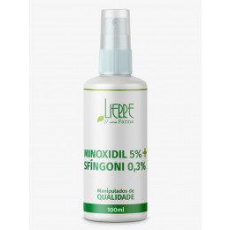 Sfingoni 0.3 minoxidil 5% trichosol loção capilar qsp 100ml